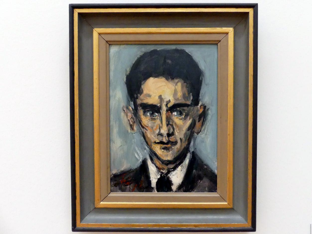 Friedrich Feigl: Portrait Franz Kafka, 1940