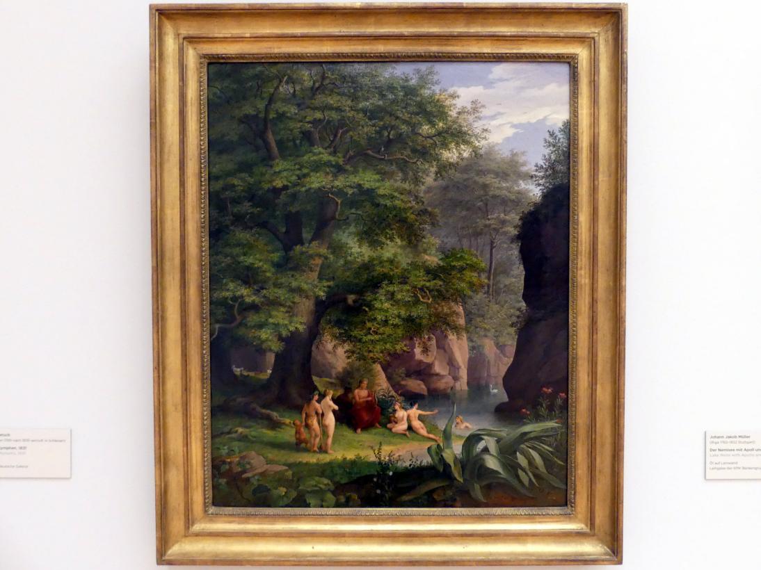 Florian Grospietsch: Orpheus mit Nymphen, 1831