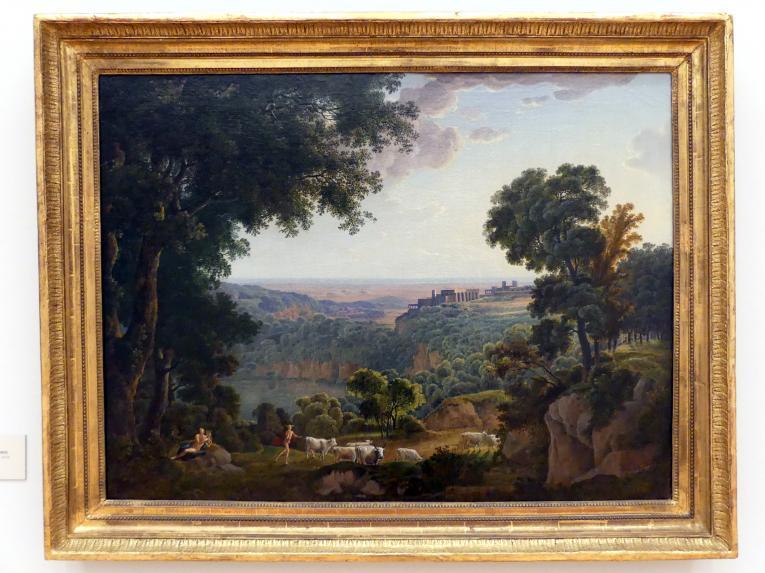 Johann Jakob Müller: Der Nemisee mit Apoll und Merkur, 1805