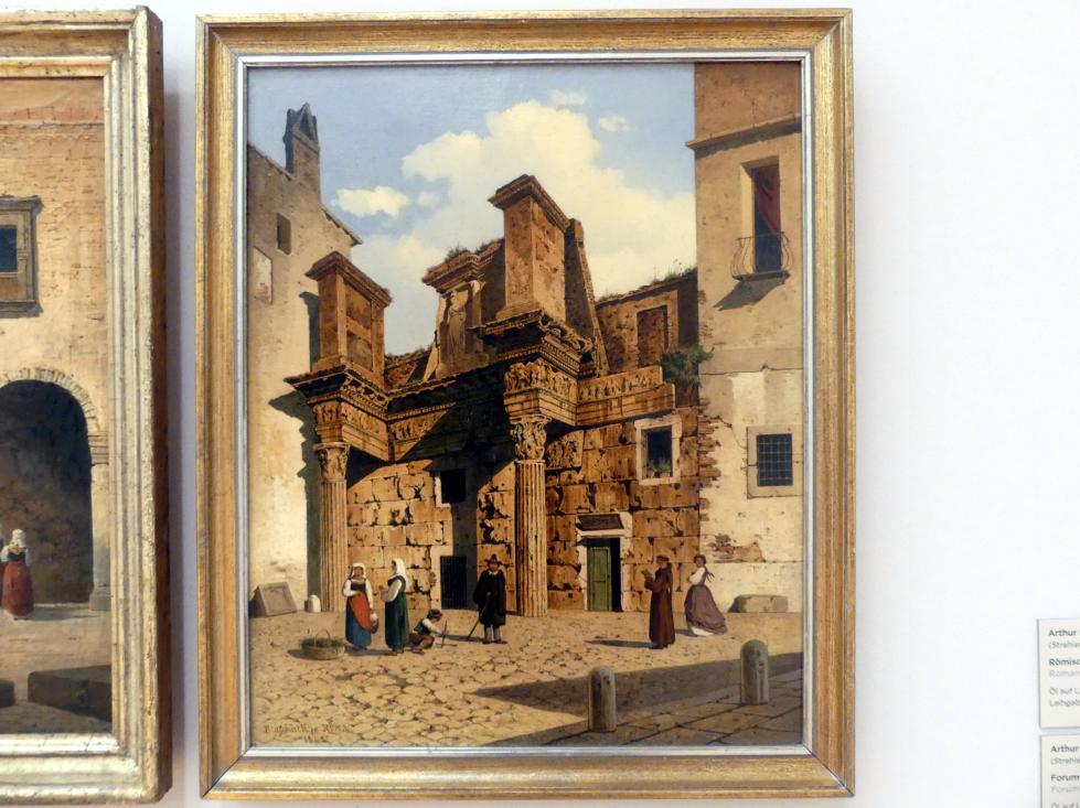 Arthur Blaschnik: Forum die Nerva in Rom, 1865