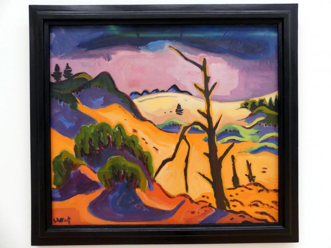 Karl Schmidt-Rottluff: Dünental mit totem Baum, 1937