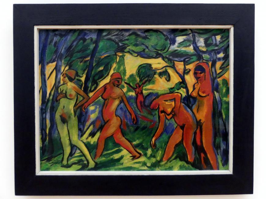 Max Pechstein: Blauer Tag, 1911