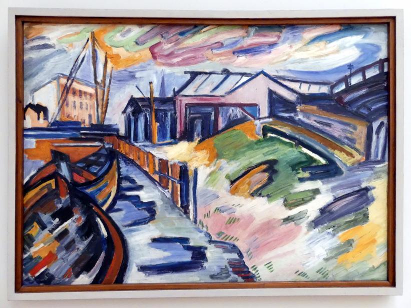 Julo Levin: Hafen in Stettin, 1929