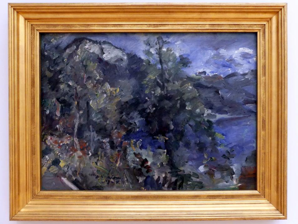 Lovis Corinth: Der Jochberg am Walchensee, 1924
