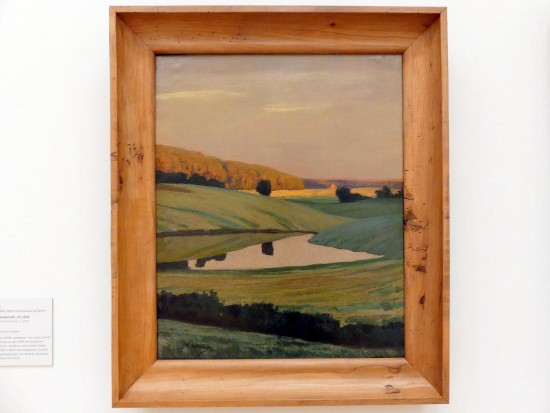 Walter Leistikow: Märkische Seenlandschaft, um 1896