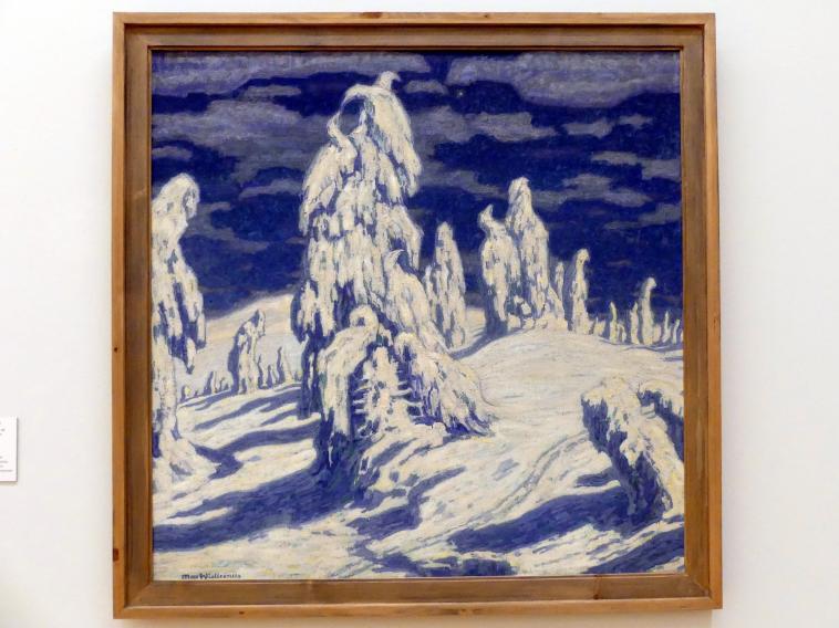 Max Wislicenus: Verschneite Tannen im Riesengebirge, Undatiert