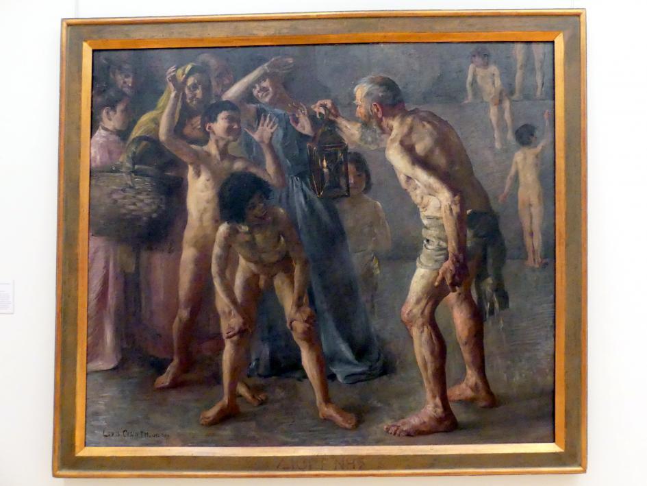 Lovis Corinth: Diogenes, 1891 - 1892