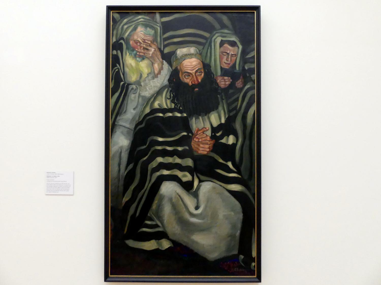 Heinrich Tischler: Rabbiner im Gebet, 1914