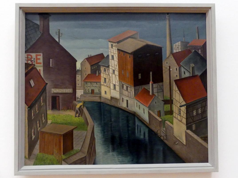 Max Radler: Stadtbild I (Zeitz/Sachsen), 1931