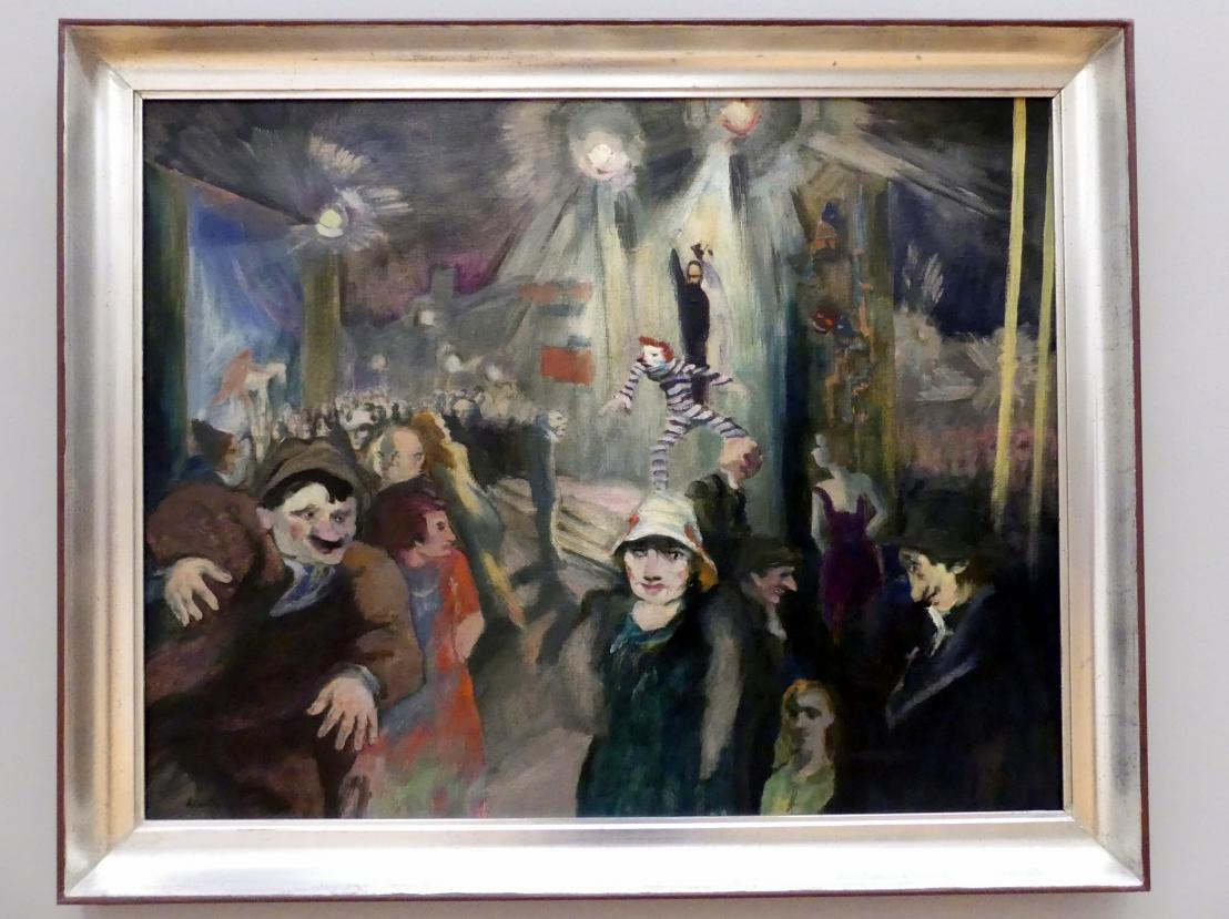 Heinrich Tischler: Rummelplatz, um 1925