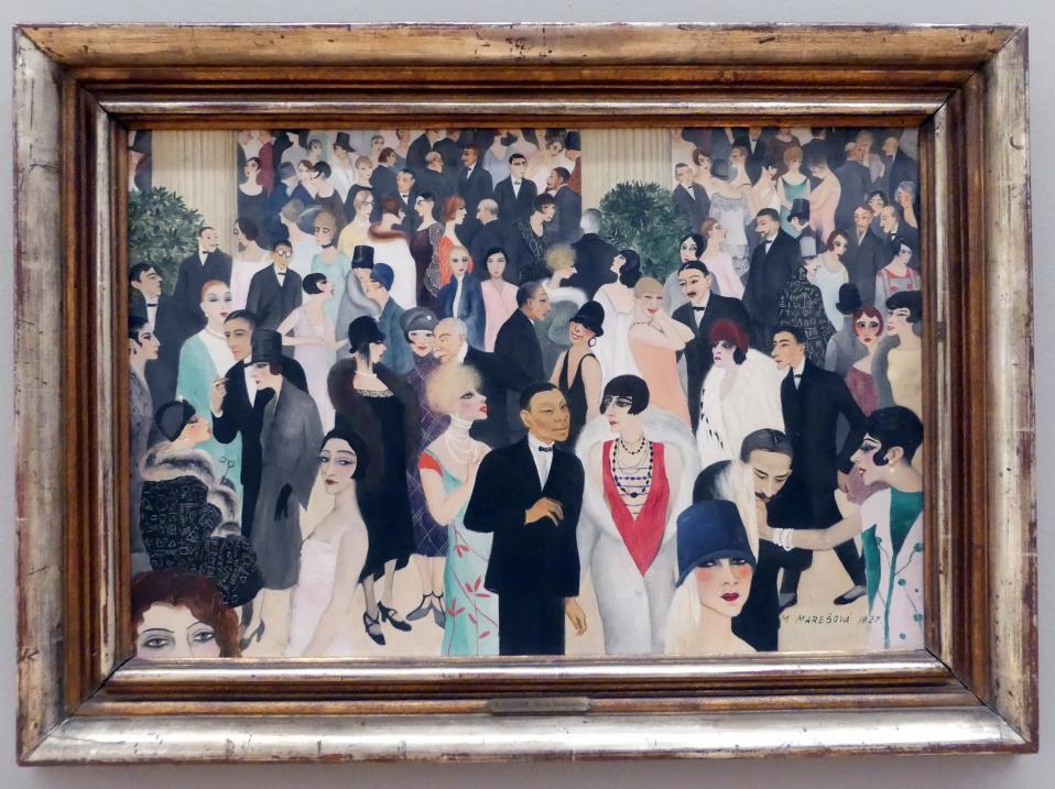 Milada Marešová: Wohltätigkeitsbasar (Dobročinný bazar), 1927