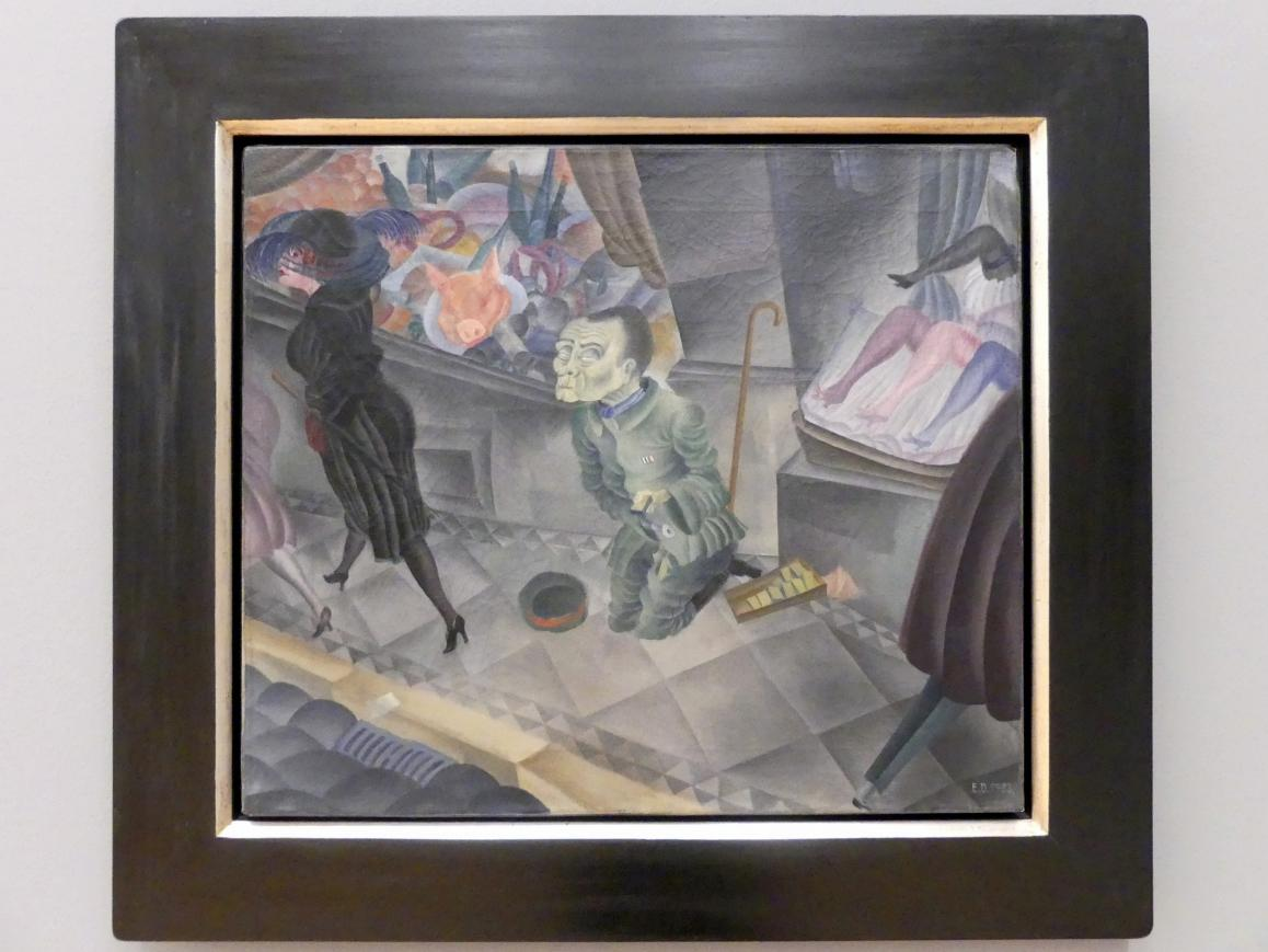 Erich Drechsler: Wohltätigkeitsbasar (Dobročinný bazar), 1923