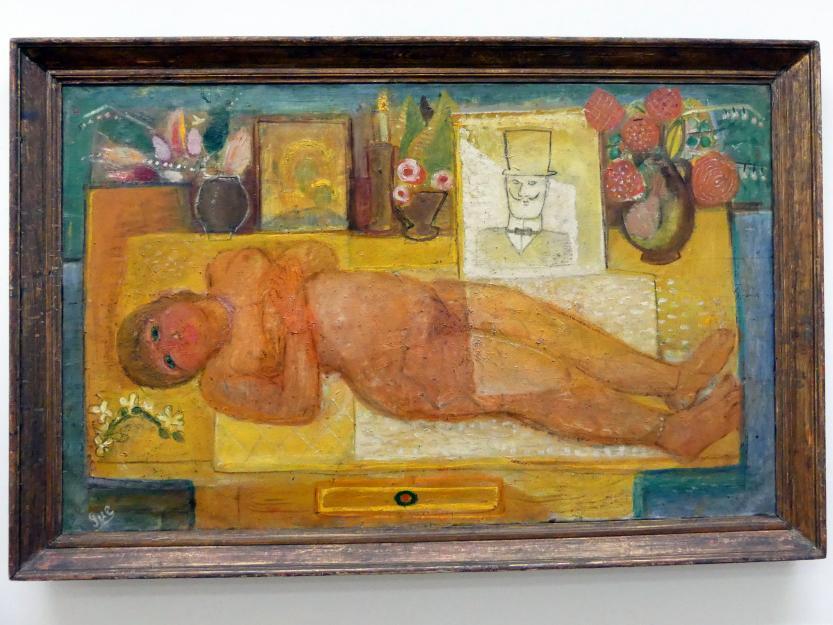 Robert Genin: Liegender Akt, 1930