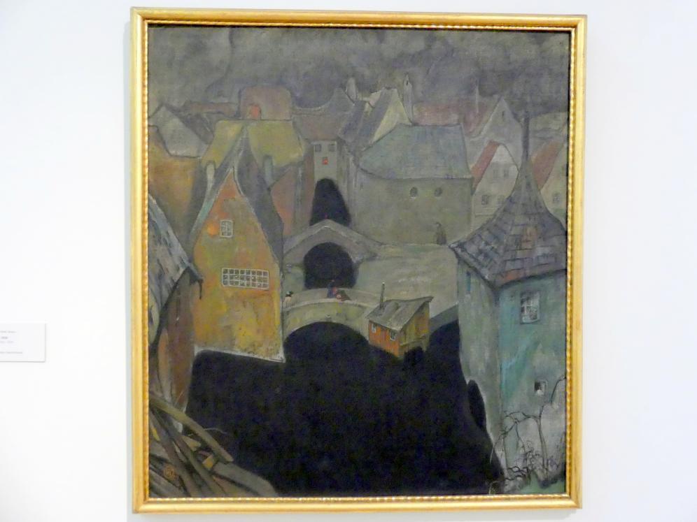 Richard Teschner: Das verrufene Viertel, 1918