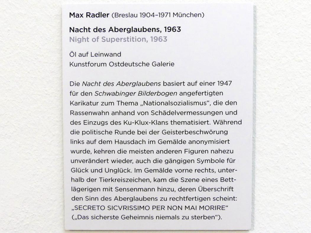 Max Radler: Nacht des Aberglaubens, 1963, Bild 2/2