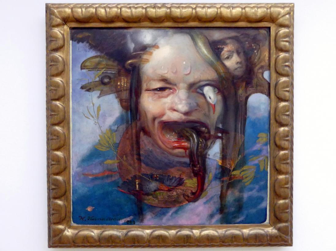 Hermann Hanatschek: Groteske Maske, 1903