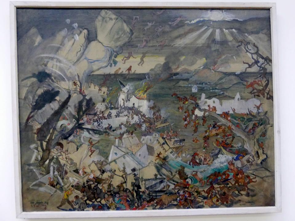 Oskar Laske: Der Jüngste Tag, 1920