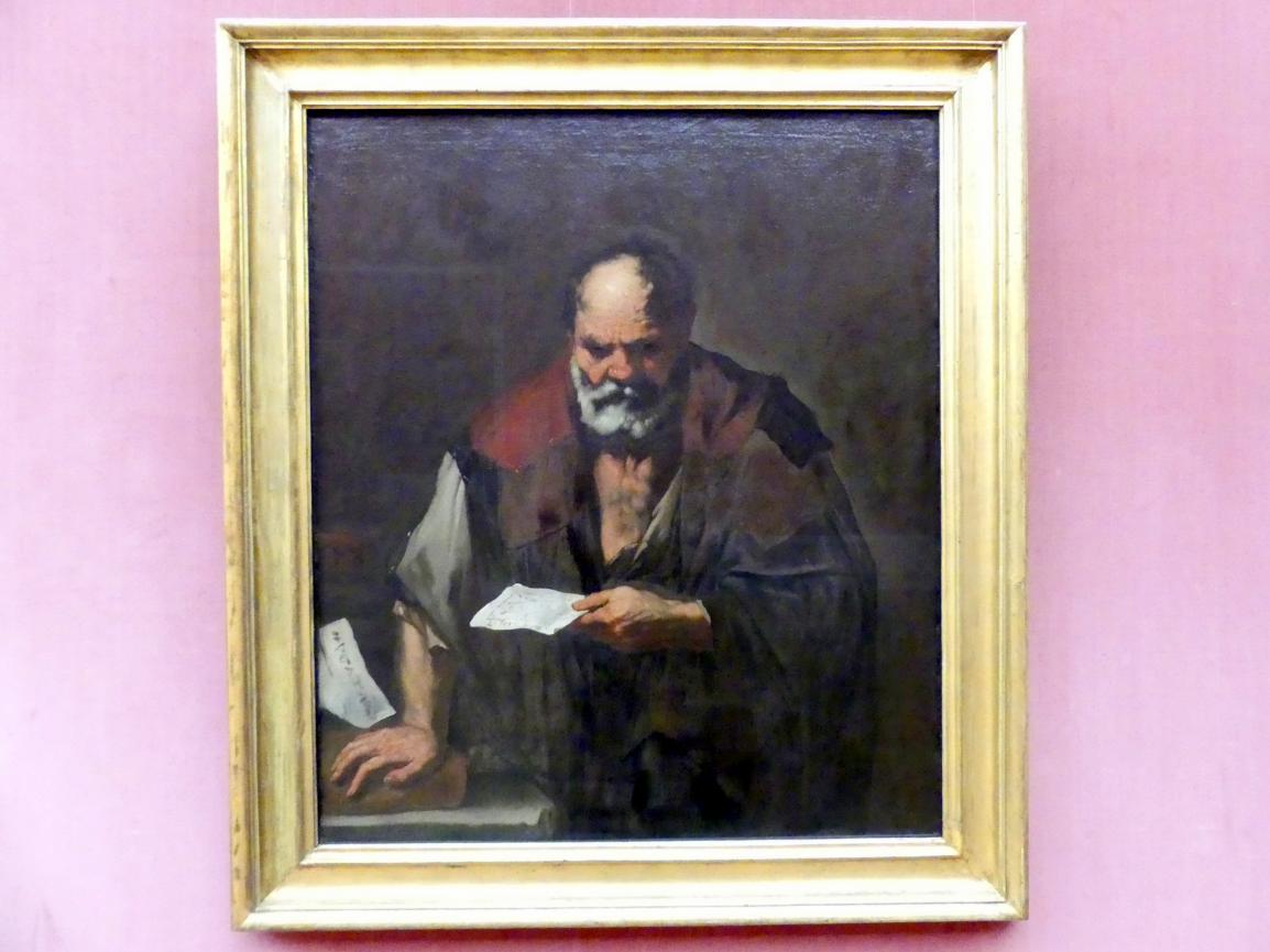 Luca Giordano: Euklid, um 1650 - 1653
