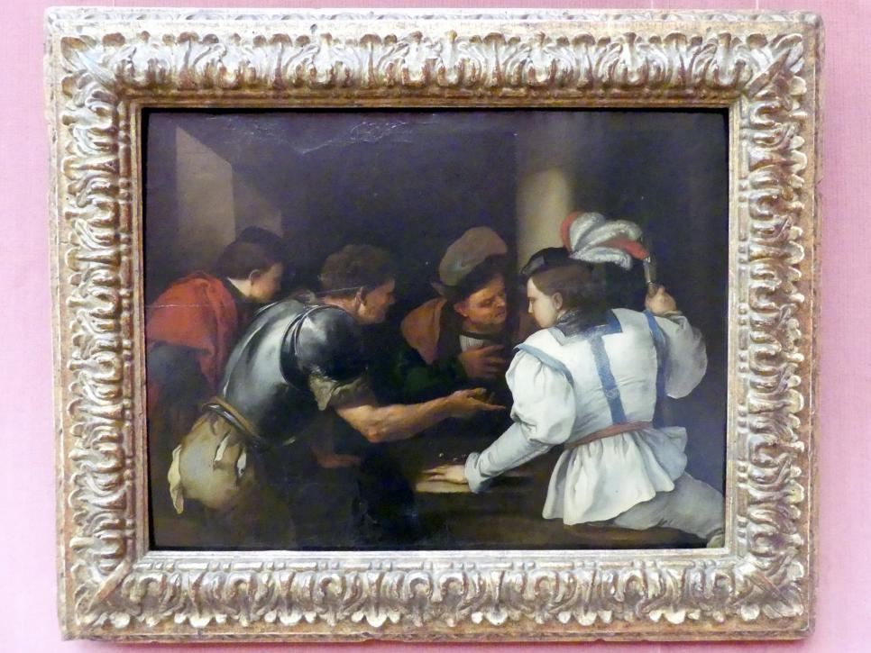 Luca Giordano: Die Würfelspieler, Um 1653