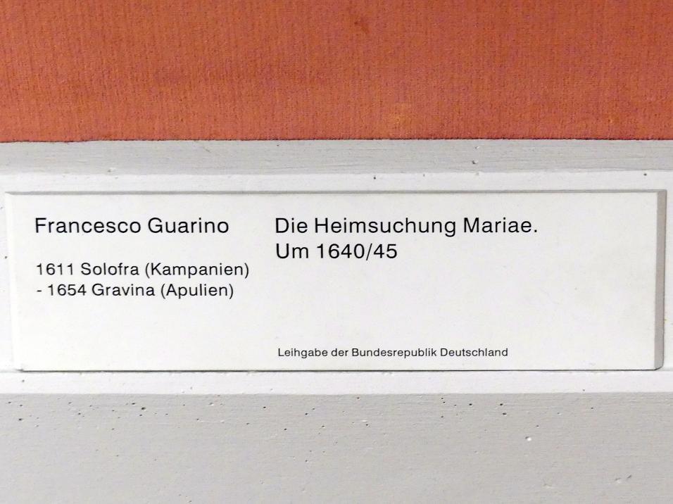 Francesco Guarino: Die Heimsuchung Mariae, um 1640 - 1645, Bild 2/2