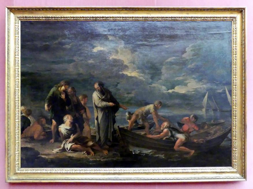 Salvator Rosa: Pythagoras und die Fischer, 1662