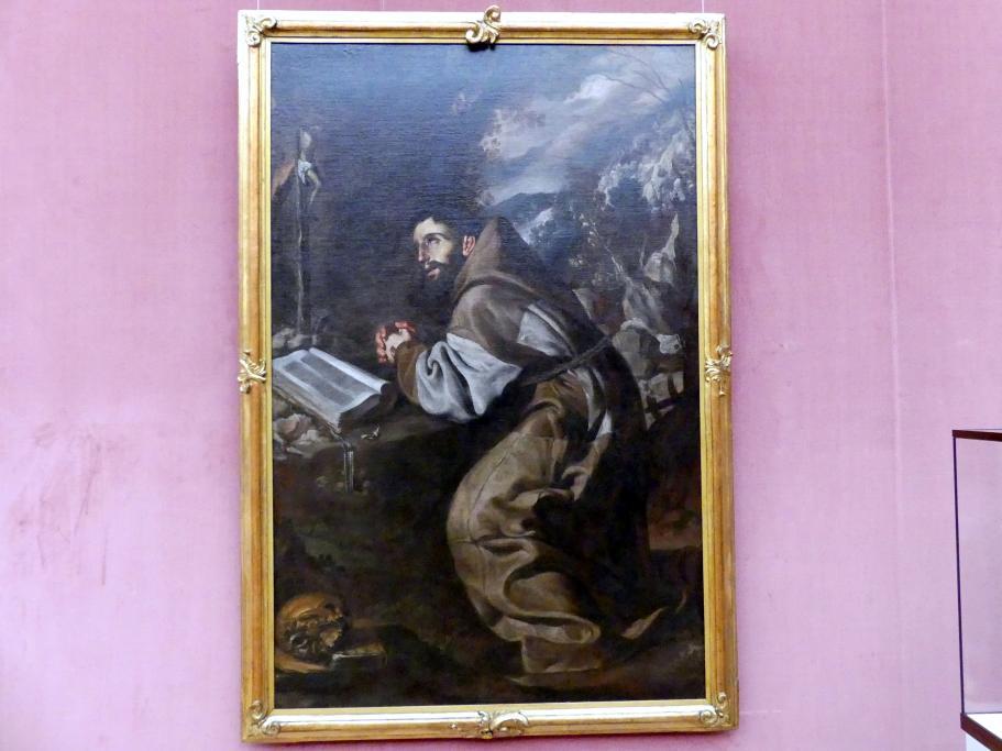 Antonio del Castillo y Saavedra: Der hl. Franziskus betend, um 1660