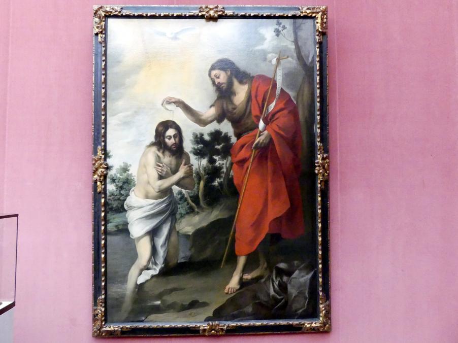 Bartolomé Esteban Murillo: Die Taufe Christi, um 1655
