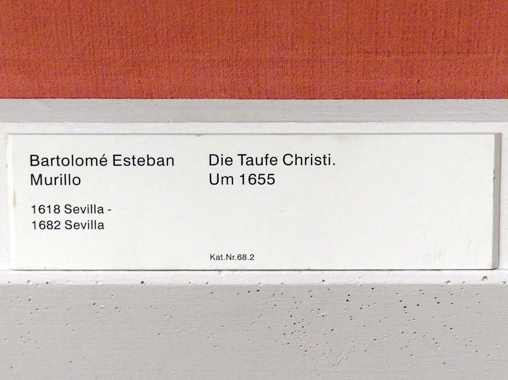 Bartolomé Esteban Murillo: Die Taufe Christi, um 1655, Bild 2/2