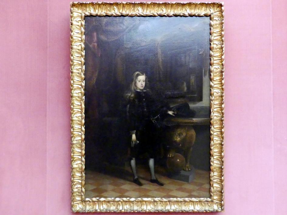 Juan Carreño de Miranda: König Karl II. von Spanien als Knabe (1661-1700), 1673