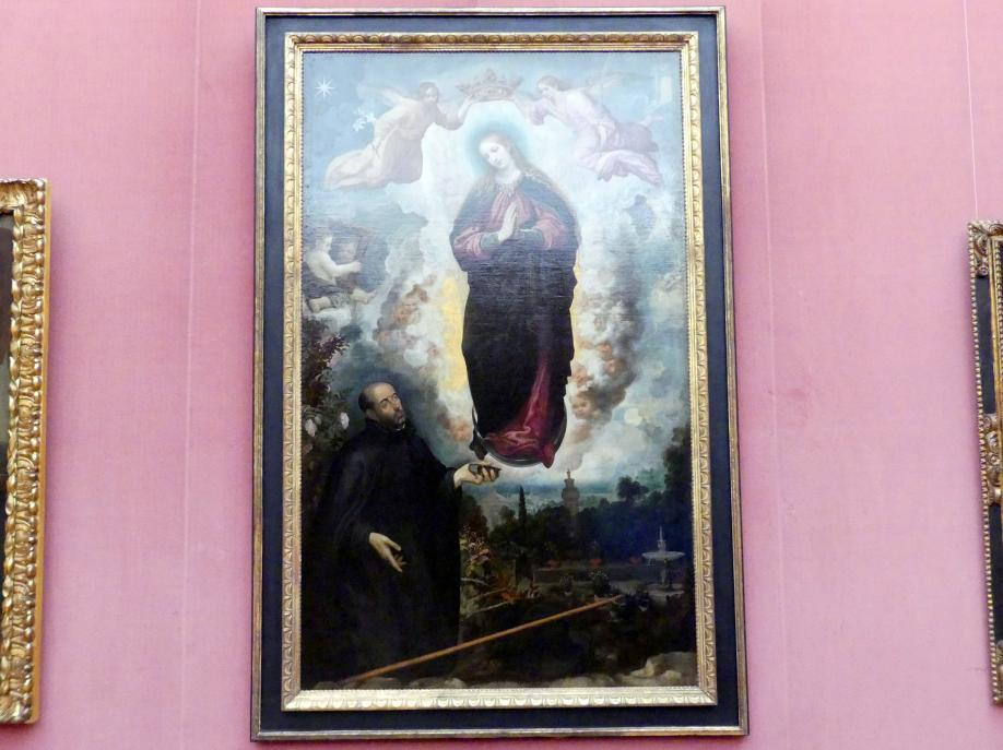 Juan de las Roelas (de Ruela): Maria der Unbefleckten Empfängnis, von dem Stifter Pater Fernando de Mata (um 1554-1612) verehrt, Undatiert