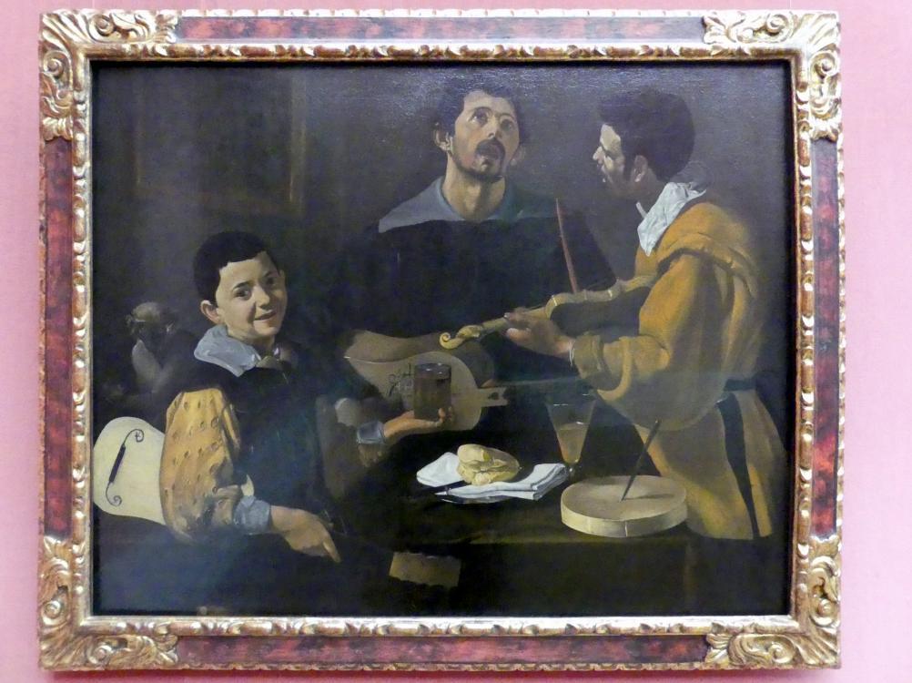 Diego Rodríguez de Silva y Velázquez: Die drei Musikanten, um 1616 - 1620, Bild 1/2