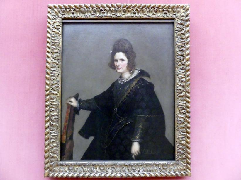 Diego Rodríguez de Silva y Velázquez: Bildnis einer Dame, um 1630 - 1633