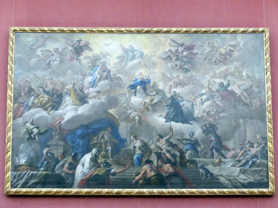 Paolo De Matteis: Der Triumph der Immaculata, Um 1710 - 1715