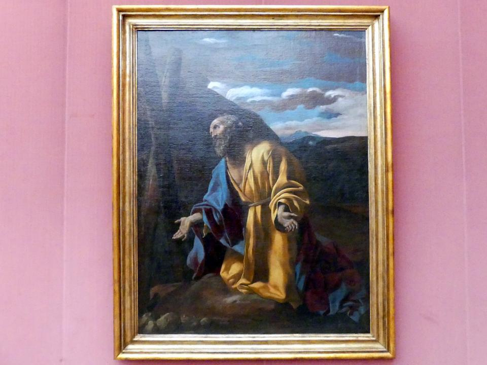 Giovanni Lanfranco: Der hl. Andreas, vor dem Kreuz knieend, 1637 - 1638