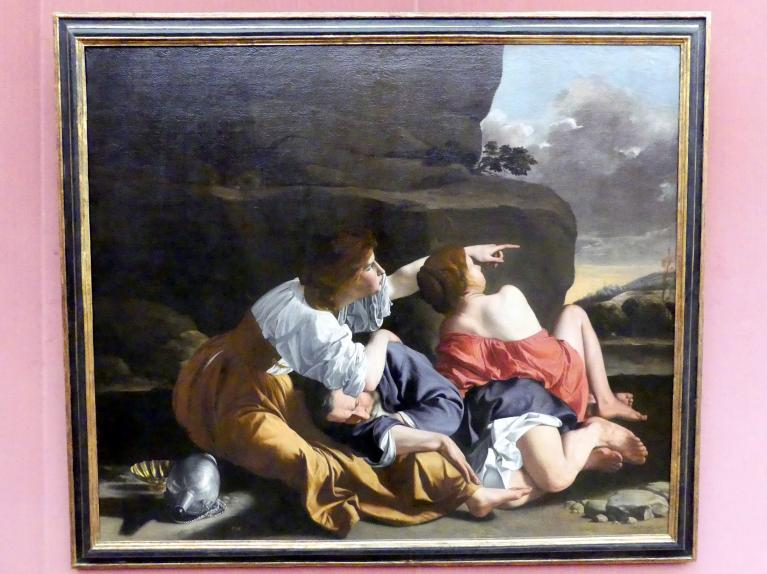 Orazio Gentileschi: Lot und seine Töchter, um 1622 - 1623