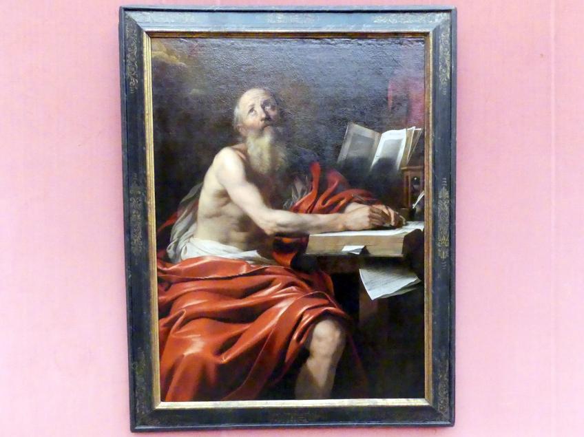 Nicolas Régnier (Niccolò Renieri): Der schreibende hl. Hieronymus, Um 1630 - 1635