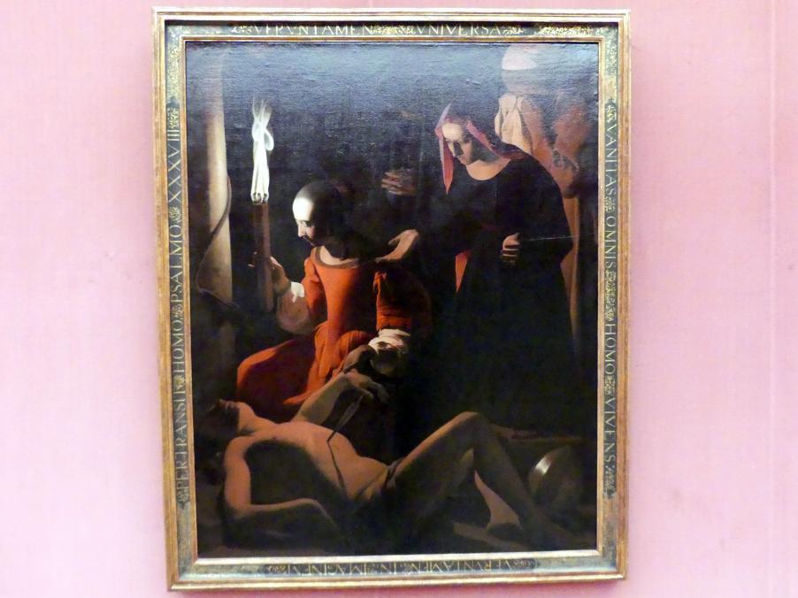 Georges de la Tour: Die Auffindung des hl. Sebastian, Um 1649