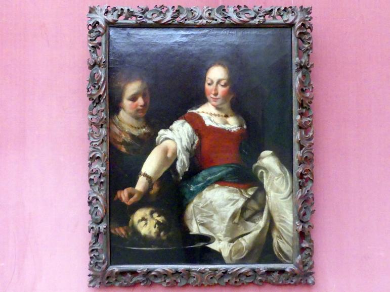 Bernardo Strozzi: Salome mit dem Haupt Johannes des Täufers, Um 1625 - 1630