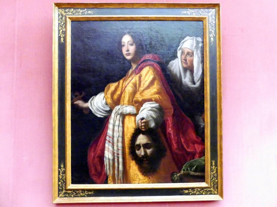 Cristofano Allori: Judith und ihre Magd Abra mit dem Haupt des Holofernes, 1610 - 1615