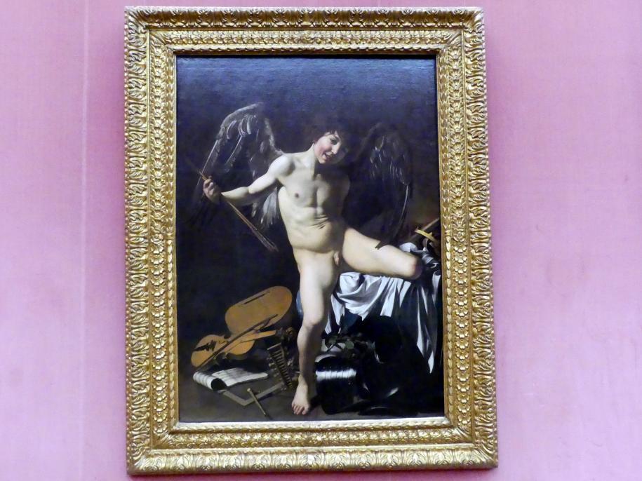 Michelangelo Merisi da Caravaggio: Amor als Sieger, 1601 - 1602