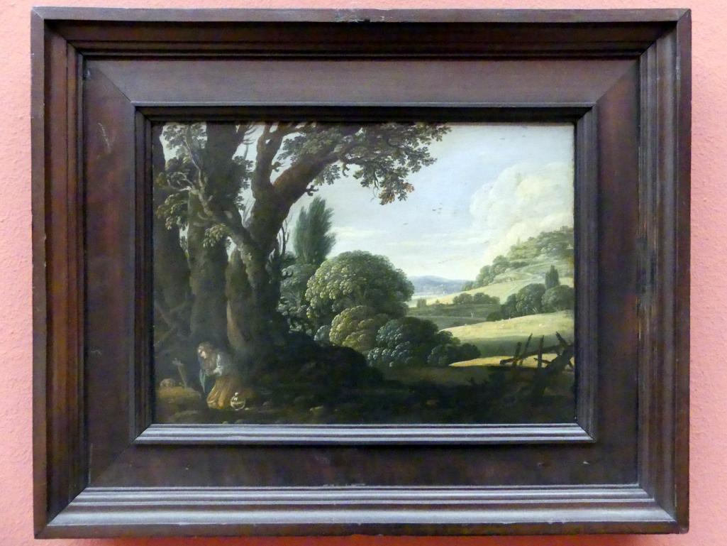 Jacob Pynas: Landschaft mit büßender Magdalena, Um 1615 - 1620