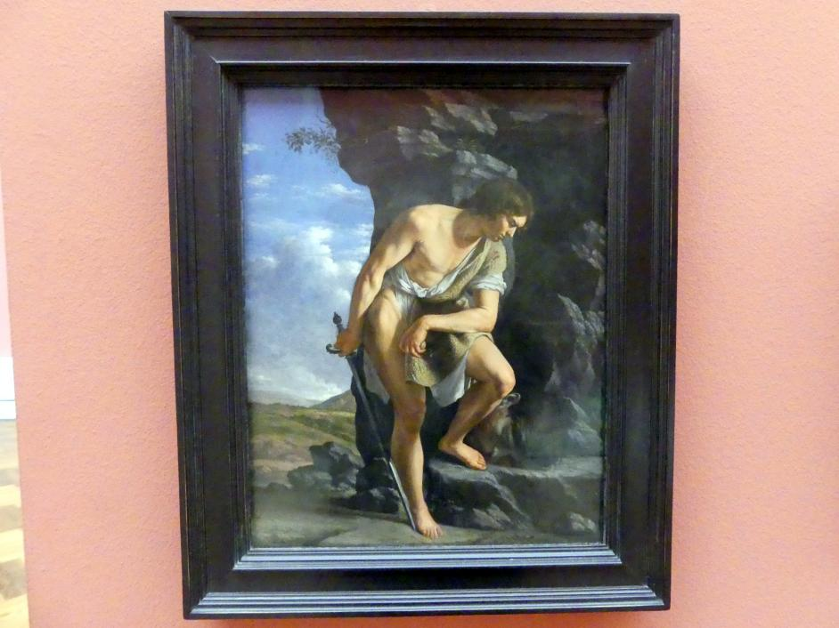 Orazio Gentileschi: David mit dem Haupt Goliaths, Um 1610 - 1612