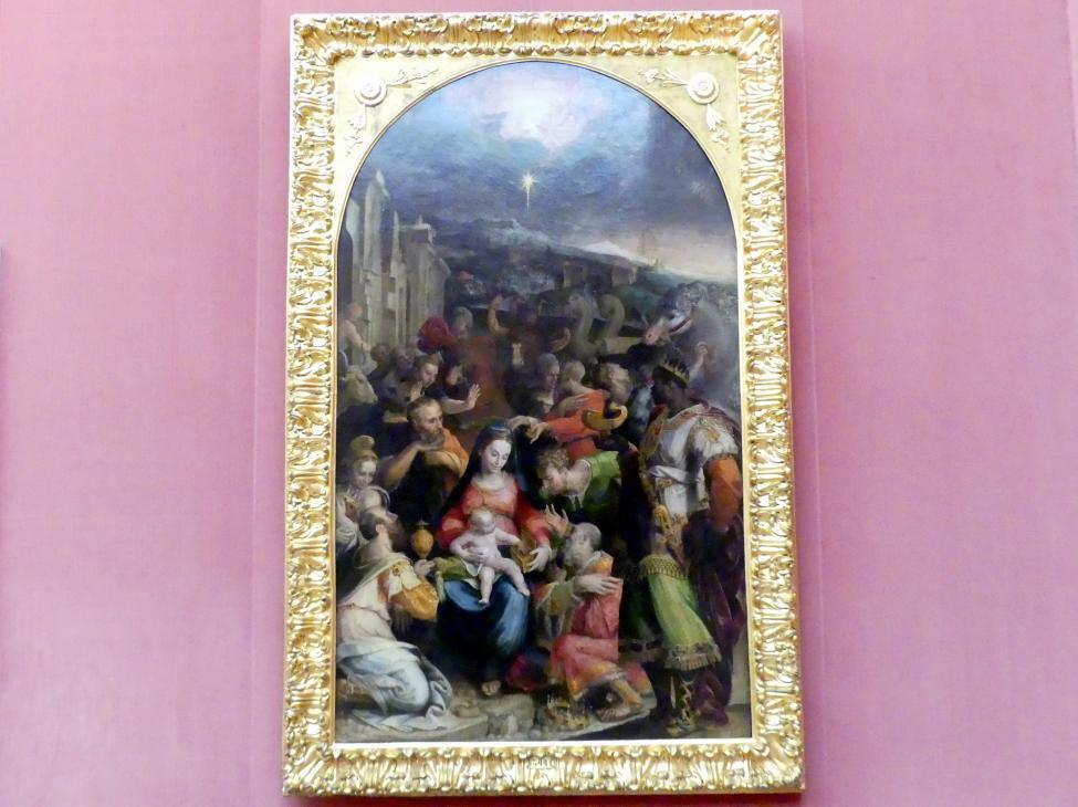 Prospero Fontana: Die Anbetung der Könige, um 1548 - 1550