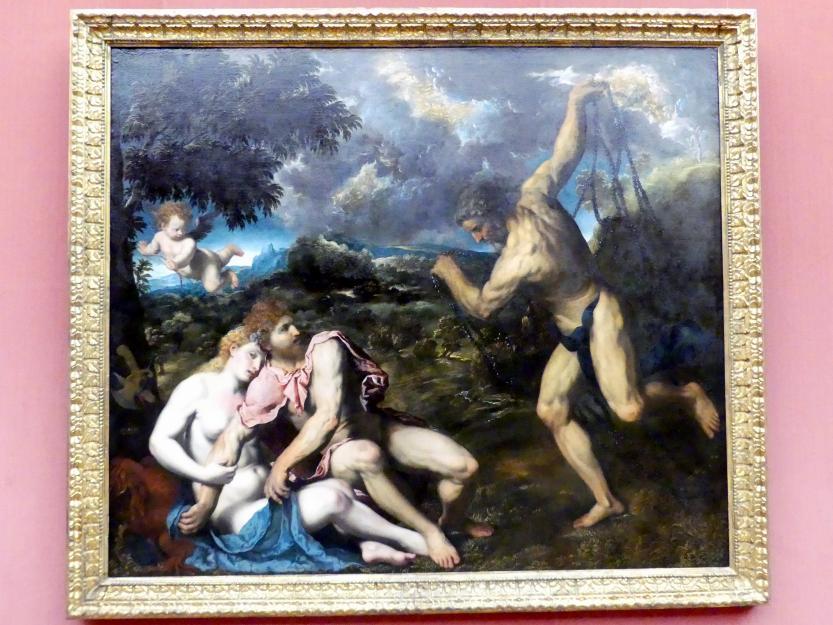 Paris Bordone: Mars und Venus, von Vulkan überrascht, um 1549 - 1550