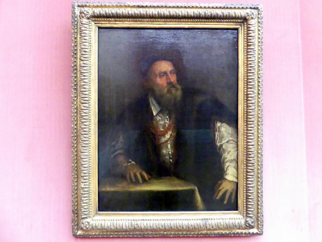 Tiziano Vecellio (Tizian): Selbstbildnis, Undatiert
