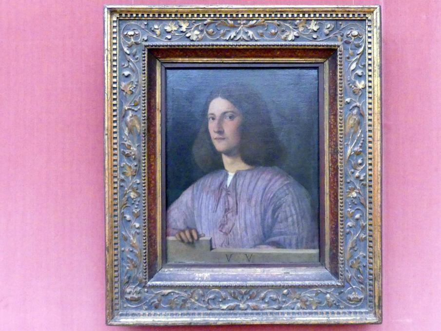 Giorgio da Castelfranco (Giorgione): Bildnis eines jungen Mannes, Undatiert