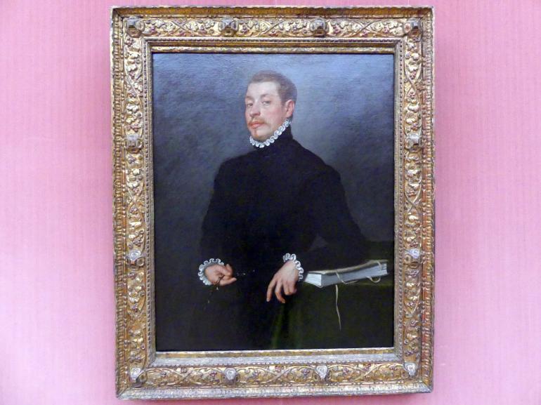 Giovanni Battista Moroni: Bildnis eines Gelehrten, um 1565