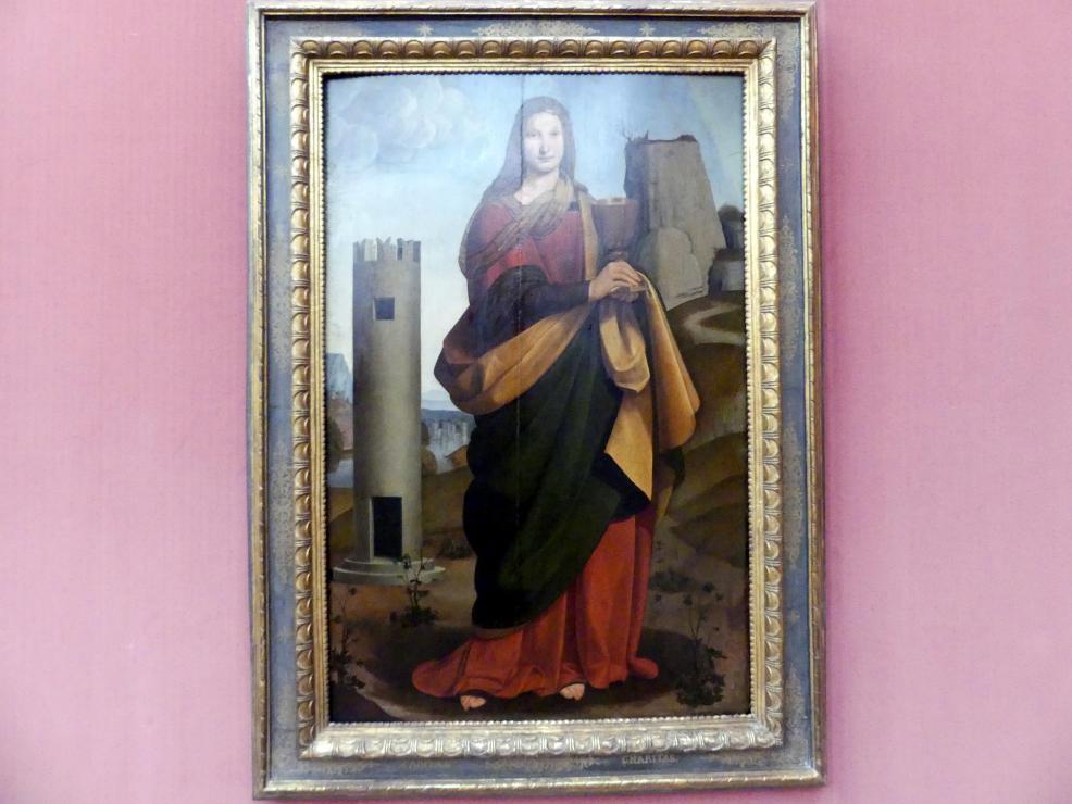 Giovanni Antonio Boltraffio: Die hl. Barbara, 1502
