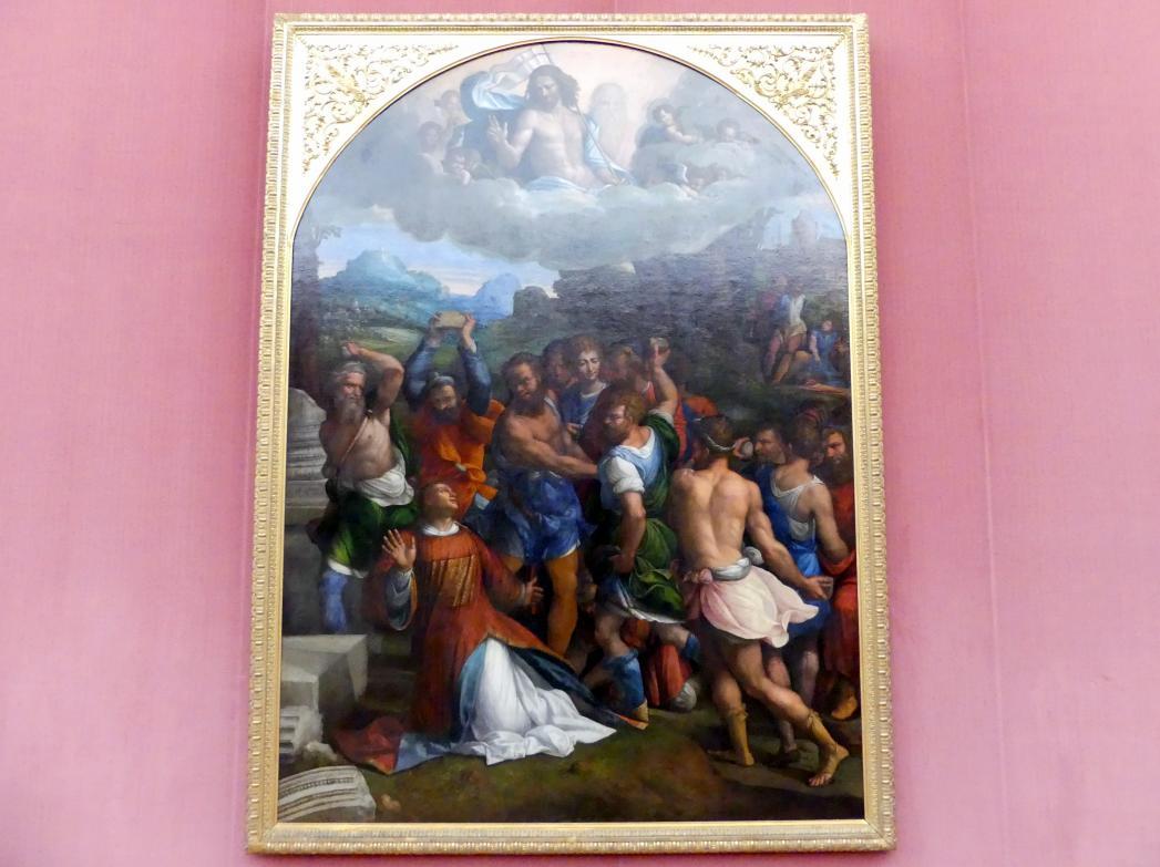 Benvenuto Tisi Garofalo: Die Steinigung des hl. Stephanus, 1540