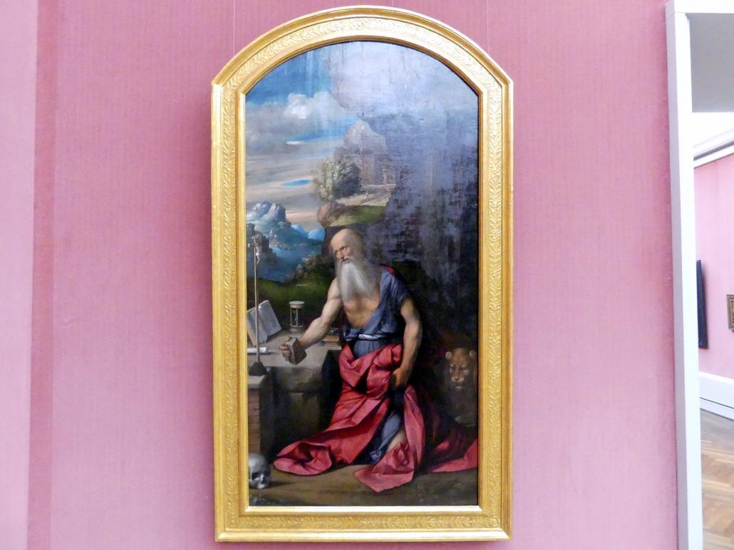 Benvenuto Tisi Garofalo: Der büßende hl. Hieronymus, 1524
